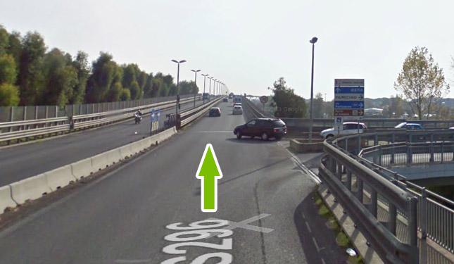 Come raggiungere il parcheggio all'aeroporto di fiumicino 10