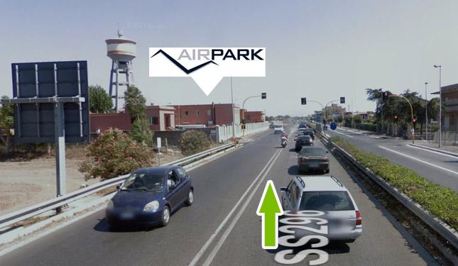 Come raggiungere il parcheggio all'aeroporto di fiumicino 12