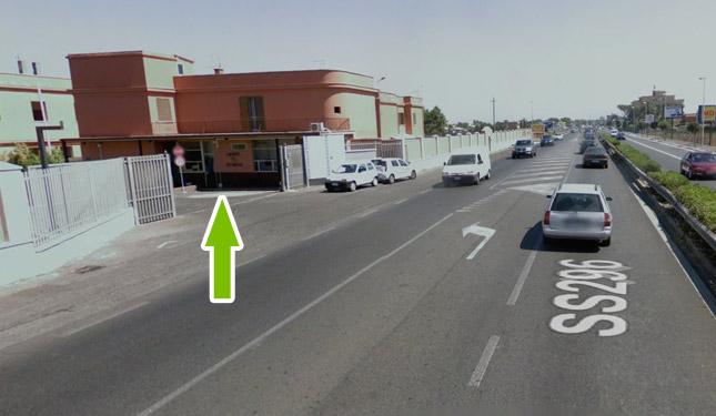Come raggiungere il parcheggio all'aeroporto di fiumicino 13