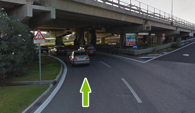Come raggiungere il parcheggio all'aeroporto di fiumicino 5
