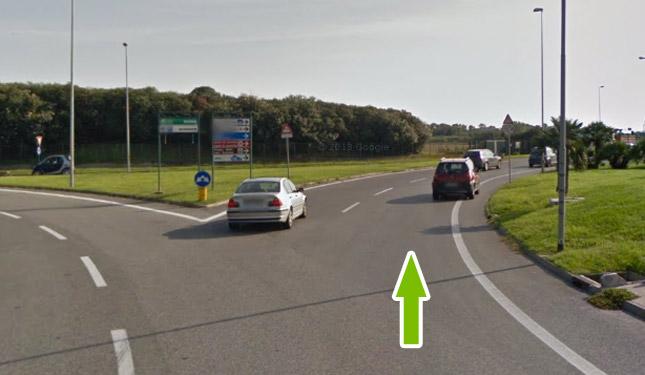 Come raggiungere il parcheggio all'aeroporto di fiumicino 6