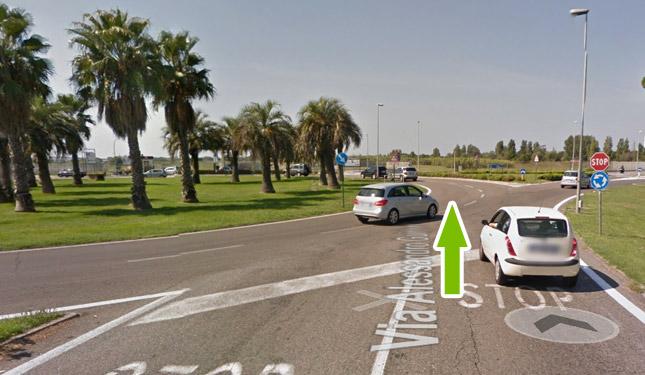 Come raggiungere il parcheggio all'aeroporto di fiumicino 7