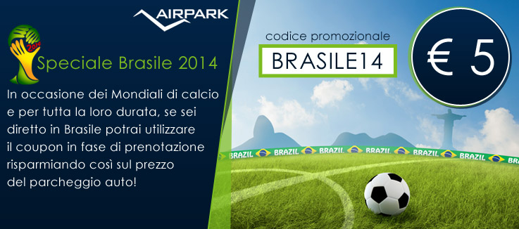 "Coupon ""Speciale Brasile 2014″"