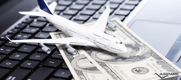 risparmiare viaggio aereo airpark