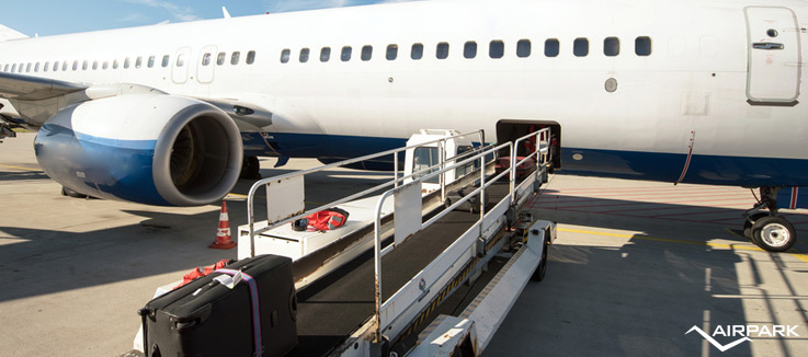 fly bag bagagli aereo airpark