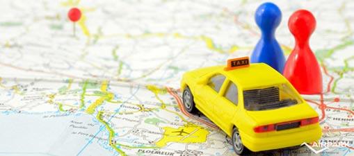 Spese di trasporto in aeroporto con taxi